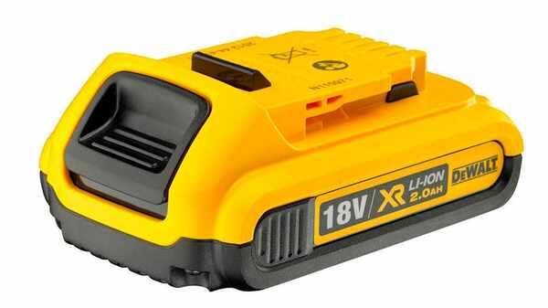 Batterie Dewalt DCB183 XR Batterie li-Ion 18 V 2 Ah prix pas cher