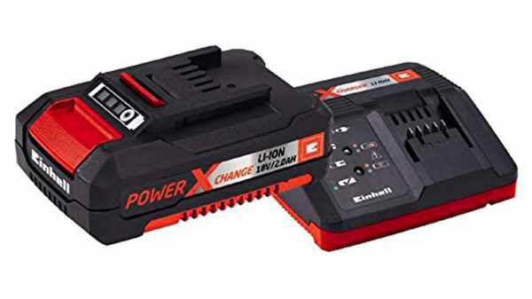 Pack batterie et chargeur Einhell 18 V 2.0 Ah Power X-Change PXC