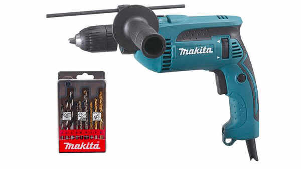 Makita Perceuse à percussion 680 W HP1641K1X pas cher