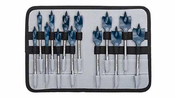 Bosch 2608587010 Assortiment de mèches plates Self Cut Speed