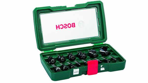 Bosch 2607019469 Coffret de 15 fraises Queue 8 mm prix pas cher