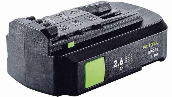 Batterie Festool BPC 18 Li 2,6 Ah prix pas cher