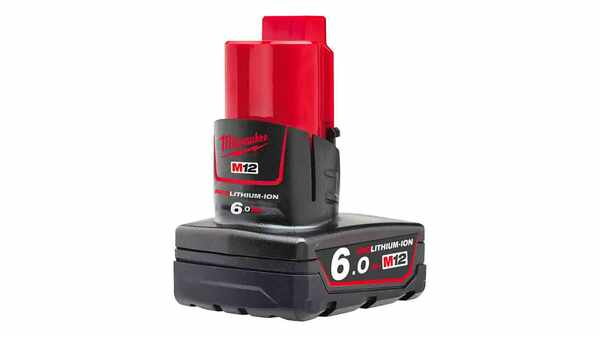 Batterie Milwaukee M12 B6 RedLithium Li-Ion 12V 6.0Ah 4932451395