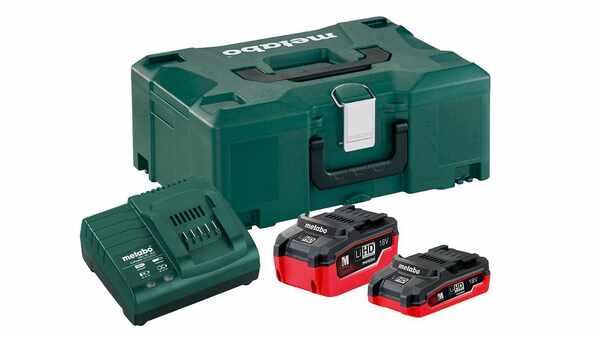 Pack batterie et chargeur Metabo 18 V LiHD 685079000