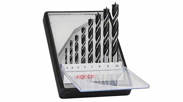 Bosch 2607010533 Assortiment de mèches hélicoïdales à bois