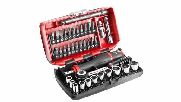 """Facom R2NANO.PG Coffret compact de serrage 1/4"""" + Set de vissage 38 outils pas cher"""
