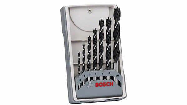 Bosch 2607017034 Assortiment de mèches hélicoïdales à bois