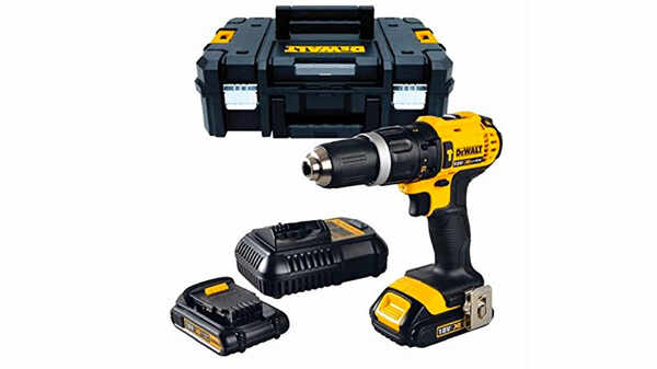 Perceuse visseuse à percussion dewalt DCD776S2T