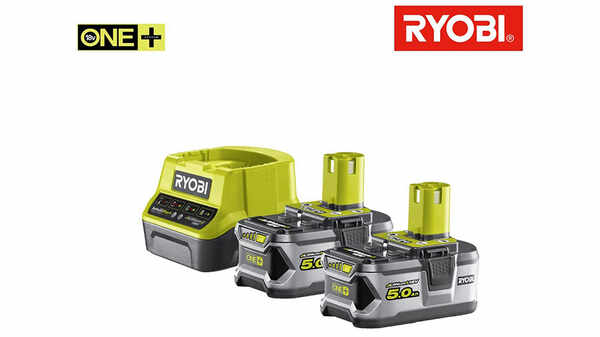 test et prix Pack batterie RYOBI 18V OnePlus 5.0 Ah promotion Lithium-ion 1 chargeur rapide RC18120-250