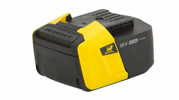 Batterie ENERGYHUB 18V40 250602 Peugeot Outillage