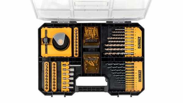 Avis et prix Coffret Modulaire TSTAK Dewalt DT71569-QZ 100 pieces pas cher