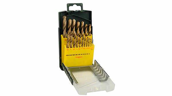Bosch 2607017152 Set de 19 forets à métaux HSS-Titane 1 à 10 mm pas cher