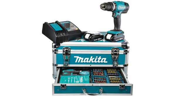 Makita DHP453RFX2 Perceuse viceuse à percussion pas cher