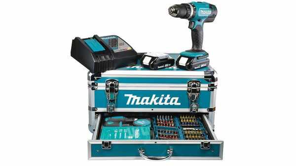 Makita DHP453RFX2 Perceuse viceuse à percussion pas cher