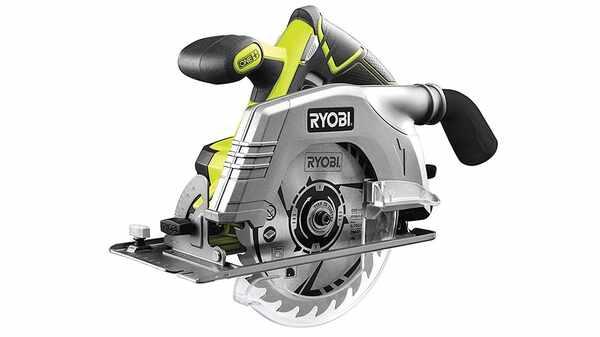 Test et avis scie circulaire Ryobi R18CS-0 prix pas cher