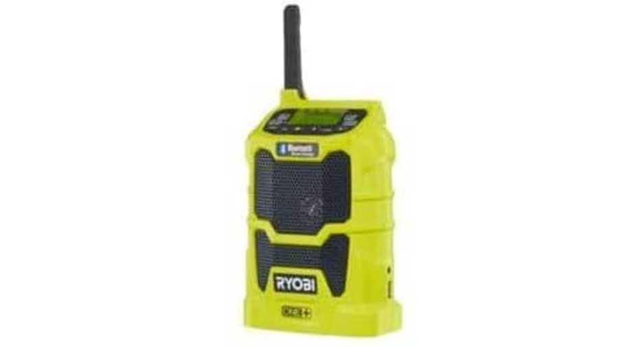 Radio de chantier Bluetooth Ryobi AM/FM 18 V OnePlus