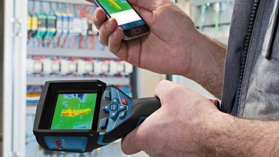 Caméra thermique connectée GTC 400 C Bosch Professional