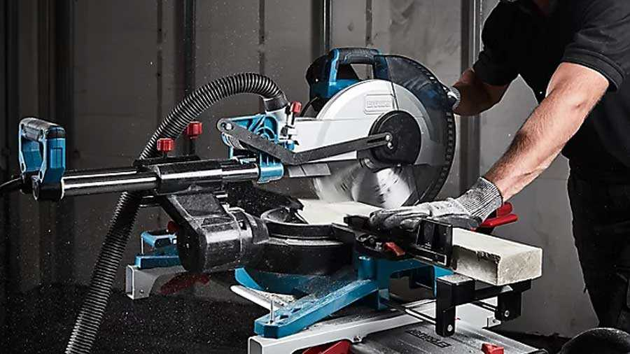 Scie à onglet radiale Erbauer EMIS305S 305 mm