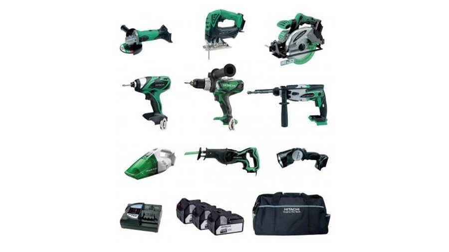 La nouvelle gamme d'outils 18 V 5Ah Hitachi