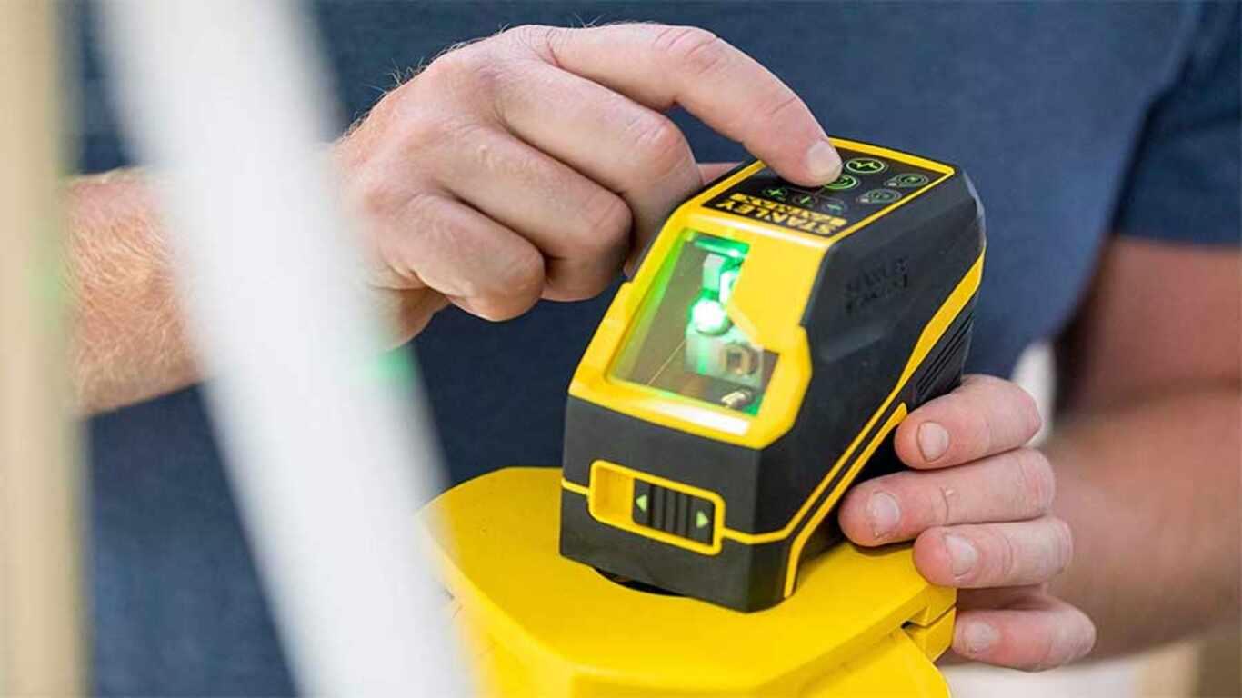 Niveau Laser Stanley Croix Fcl-G Laser Vert FMHT77586-1