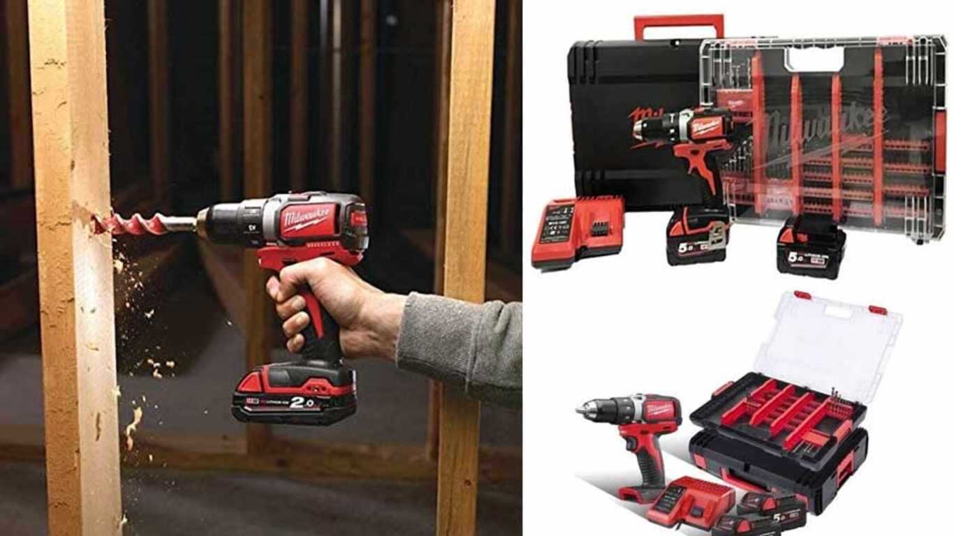Perceuse visseuse sans fil  Milwaukee M18 BLDD-502XA