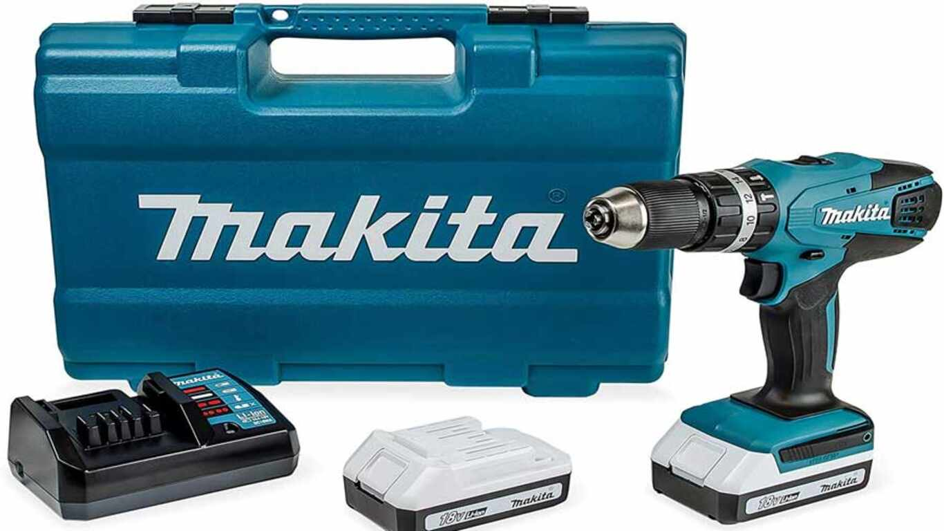 Perceuse visseuse à percussion  HP457DWE10 Makita