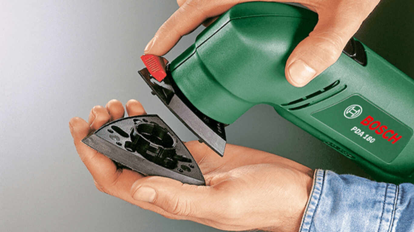 La ponceuse Delta PDA 180 Bosch