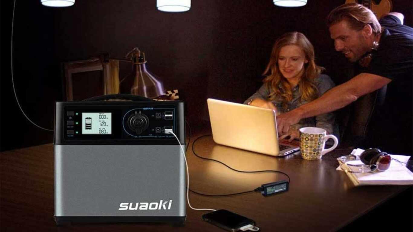 Batterie externe 220V Suaoki PS5B001-F