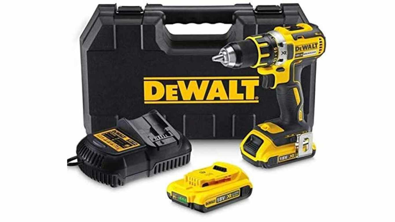 Perceuse visseuse à percussion DEWALT DCD795D2-QW