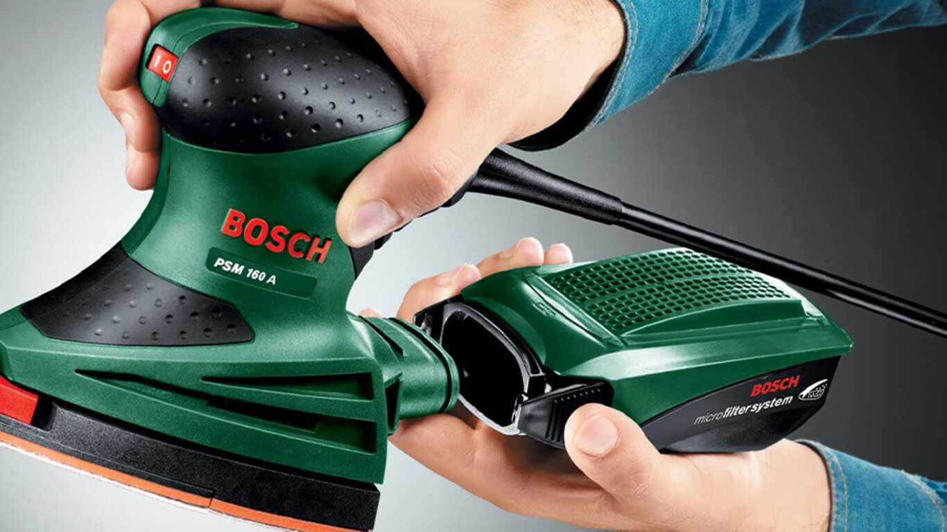 Ponceuse 160 A Bosch