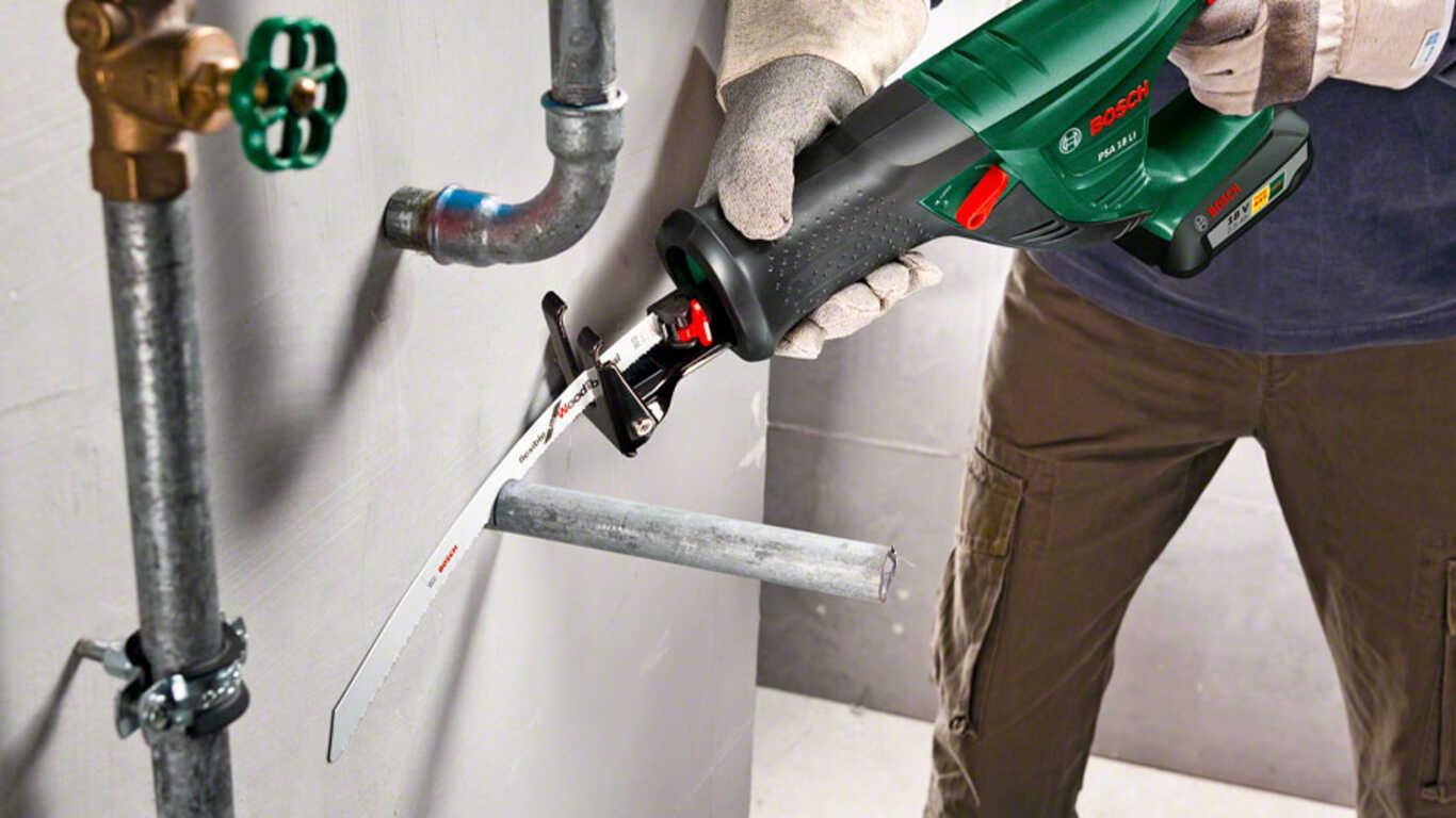 Scie sabre sans fil PSA 18 LI Bosch