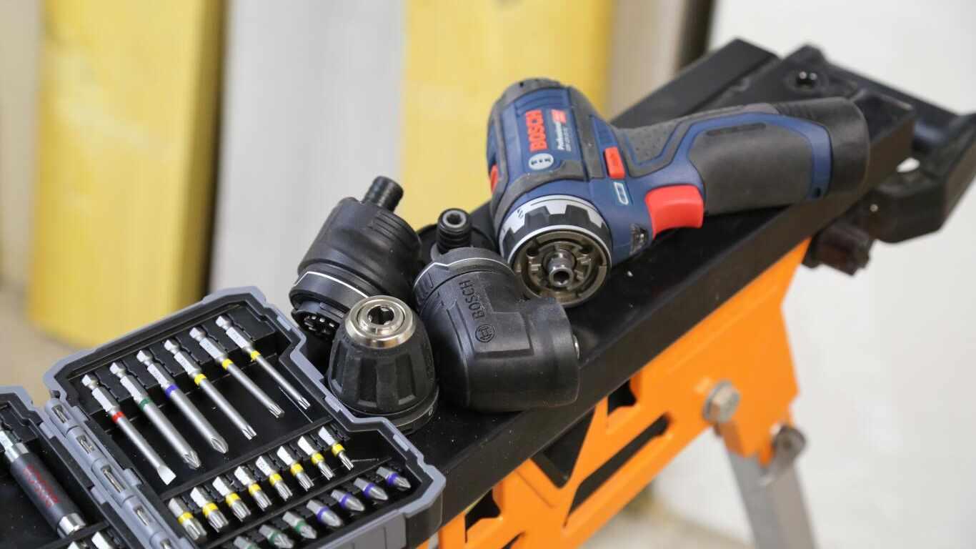 Perceuse-visseuse sans-fil Bosch Professional FlexiClick GSR 18 V-EC FC2