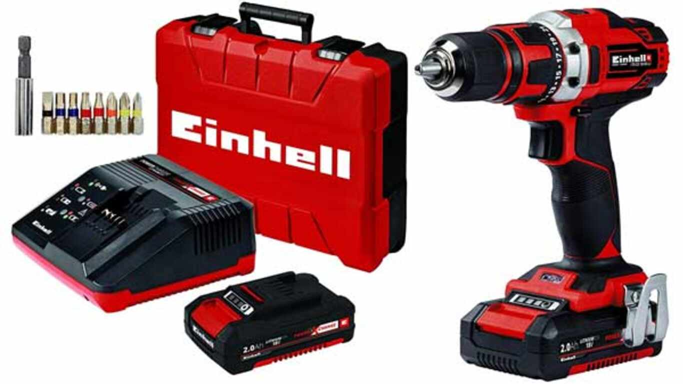 Perceuse visseuse Einhell TE-CD 18/40 Li