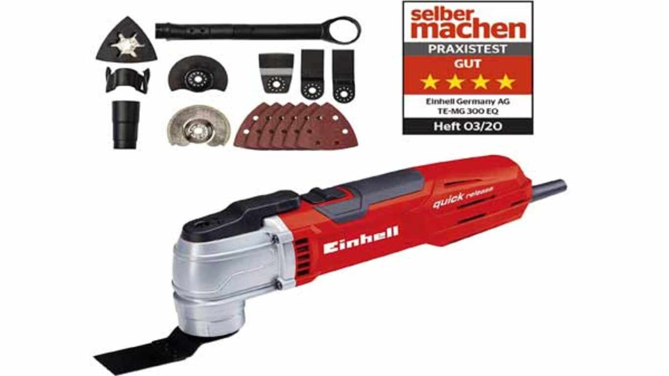 Outil Multifonctions filaire Einhell TE-MG 300 EQ