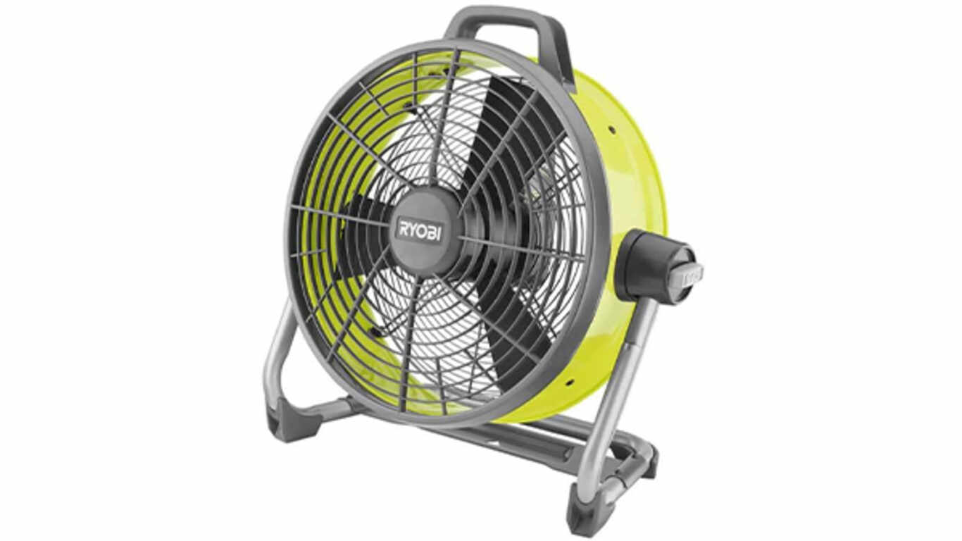Ventilateur brasseur D'air Ryobi 18 V R18F5-0
