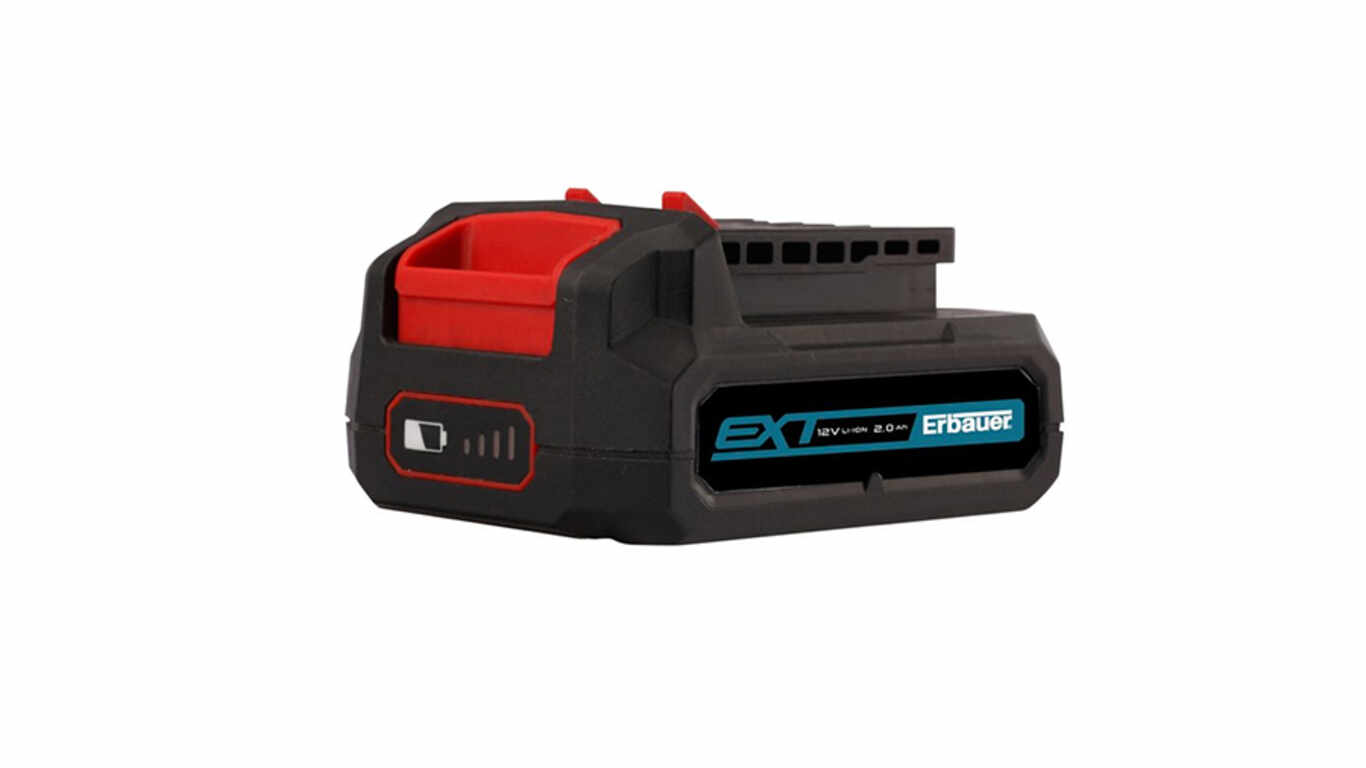 Batterie 12 V 2,0 Ah Erbauer EBAT12-Li-2