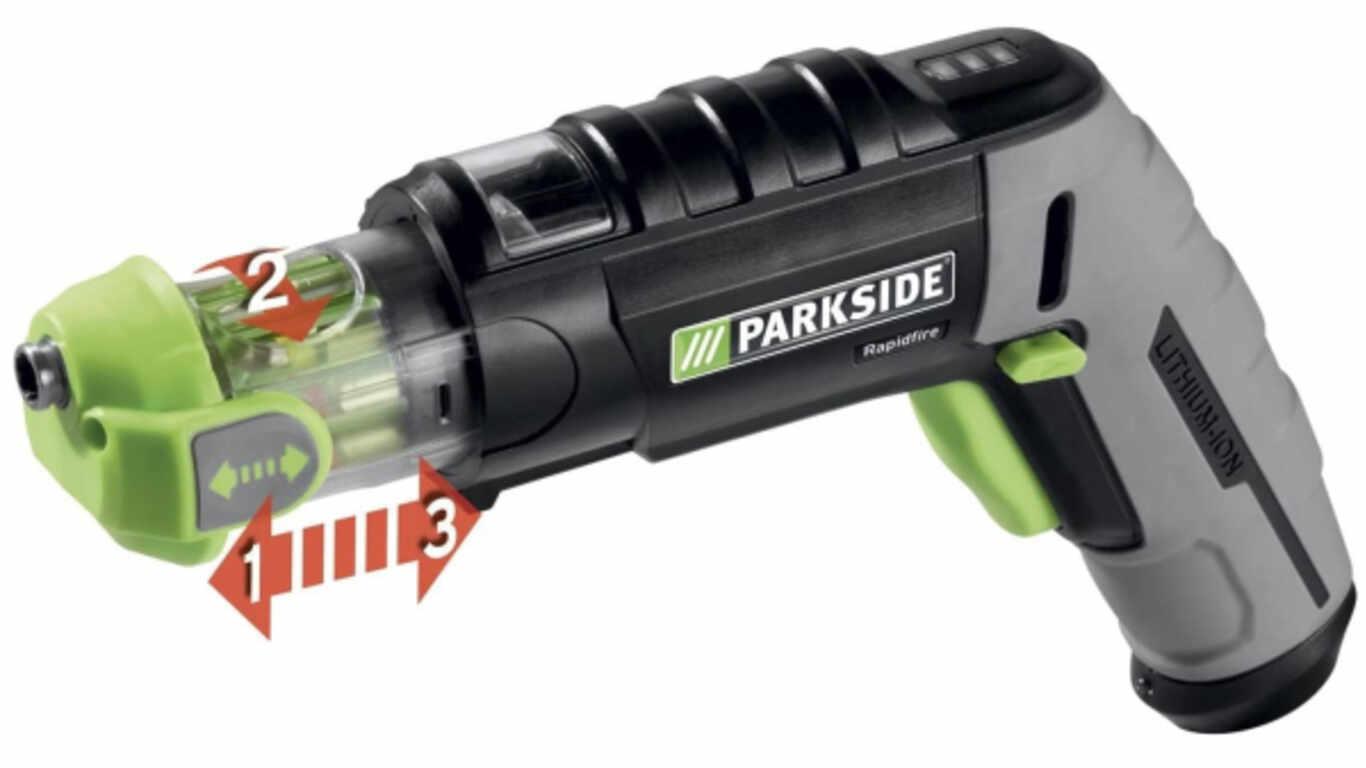 Visseuse sans fil Rapidfire, 3,6 V Parkside