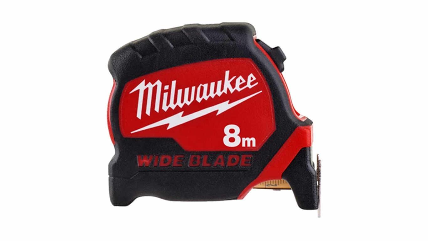 Mètre ruban Milwaukee Wide blade 8 m 4932471816