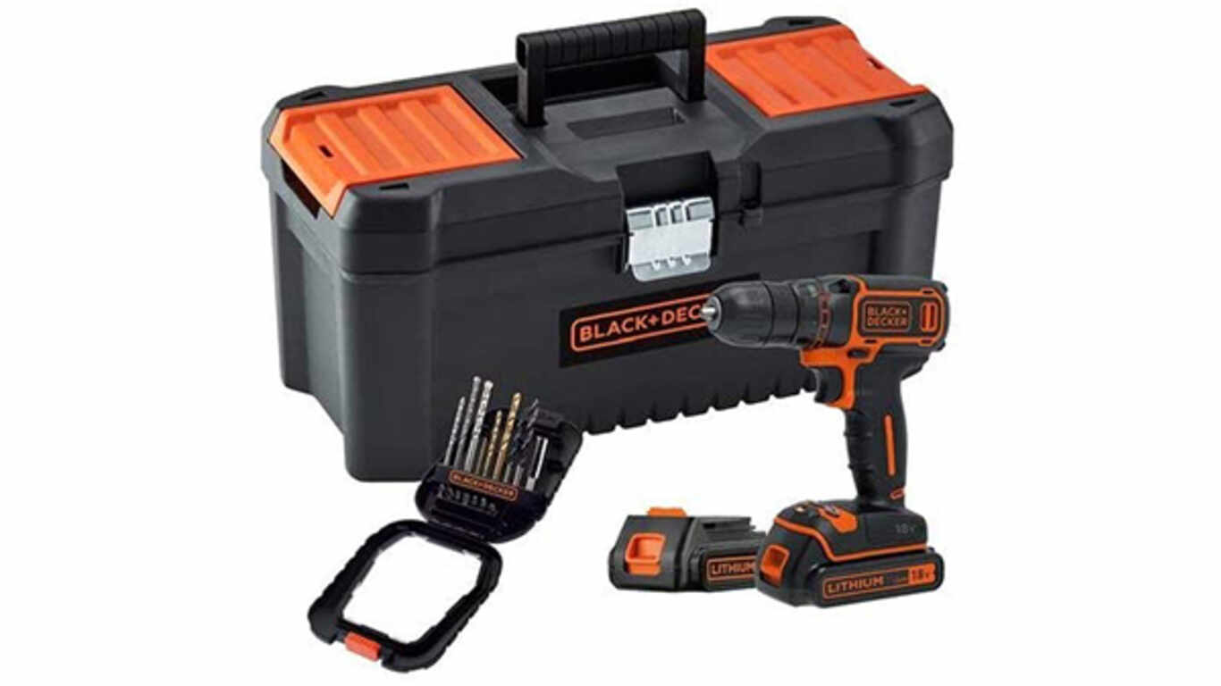 Perceuse visseuse sans fil BLACK+DECKER BDCDC18BTA-QW