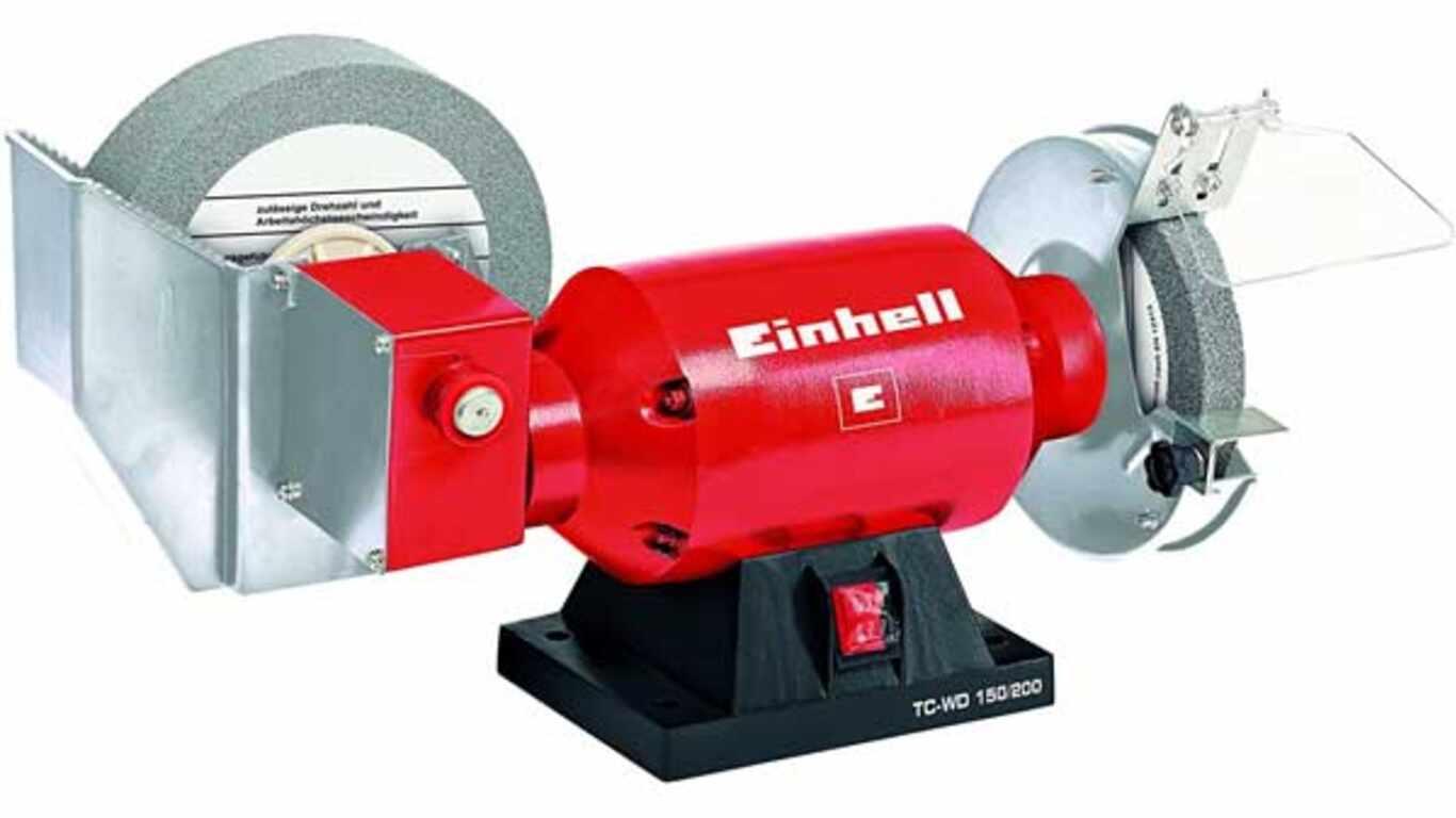 Touret d'affûtage à sec ou à eau Einhell TC-WD 150/200