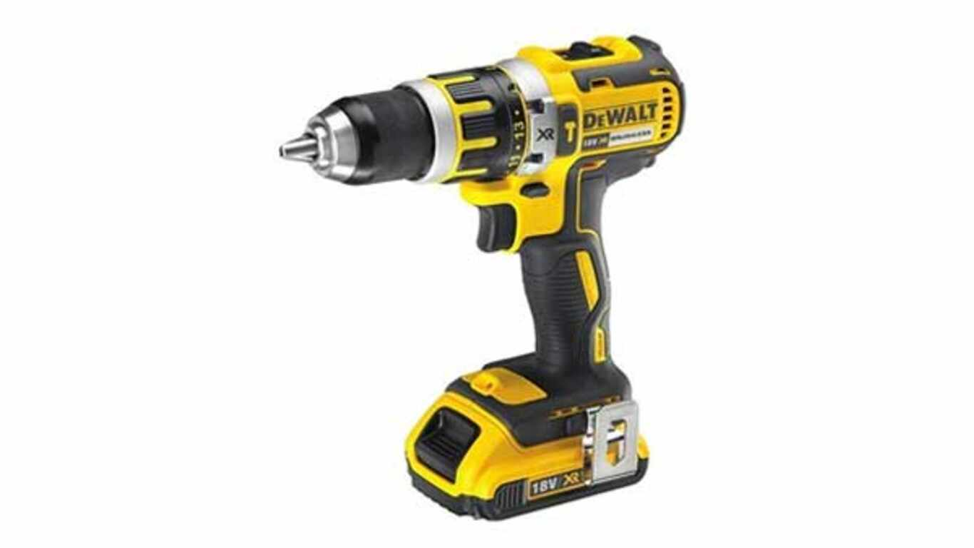 Perceuse visseuse à percussion DEWALT - DCD795D2-QW