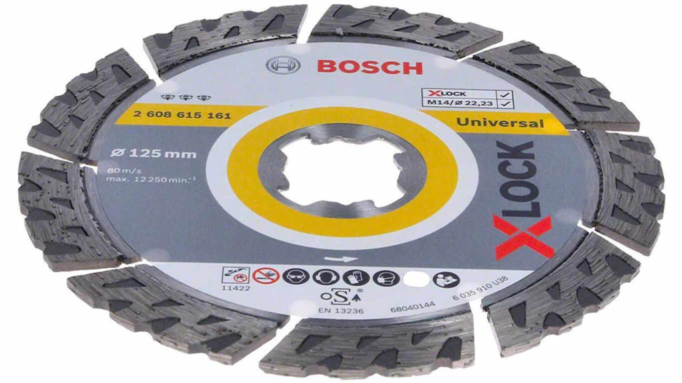 Disque à tronçonner diamanté X-LOCK Best for Universal 2608615161 Bosch