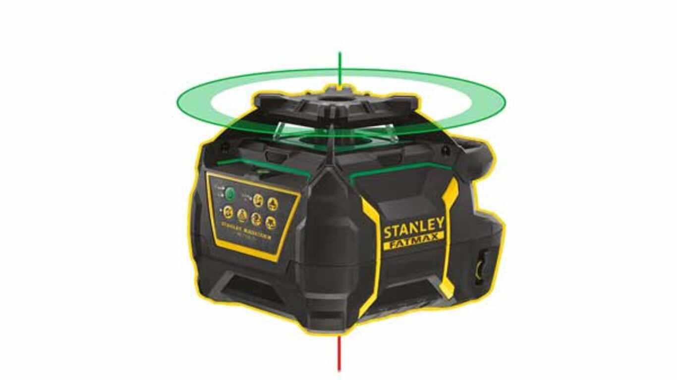 Niveau Laser rotatif Stanley RL750LG-FMHT77448-1