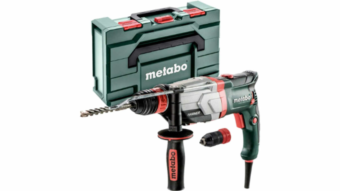 Perforateur burineur 1100 W SDS-Plus Metabo