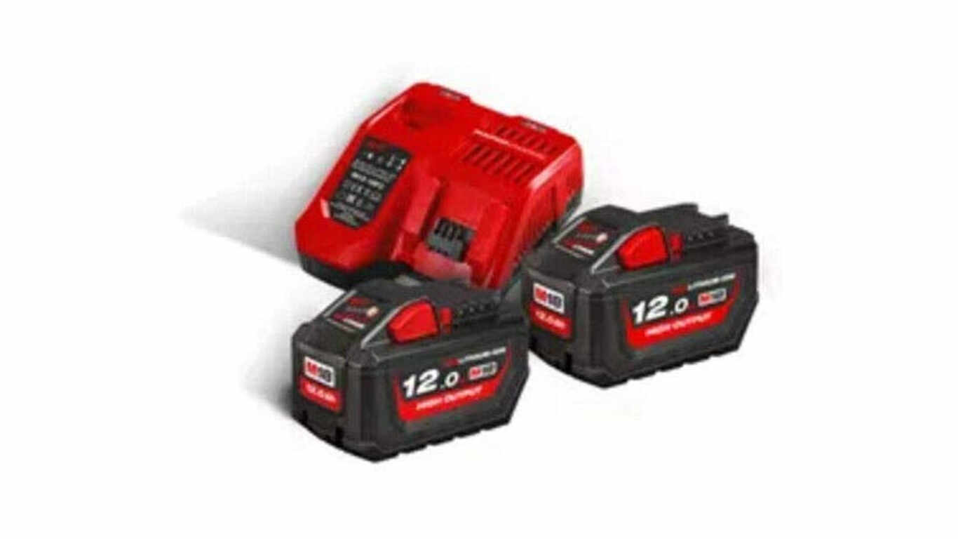 Pack batterie chargeur 18 V 12,0 Ah Milwaukee M18 HNRG-122
