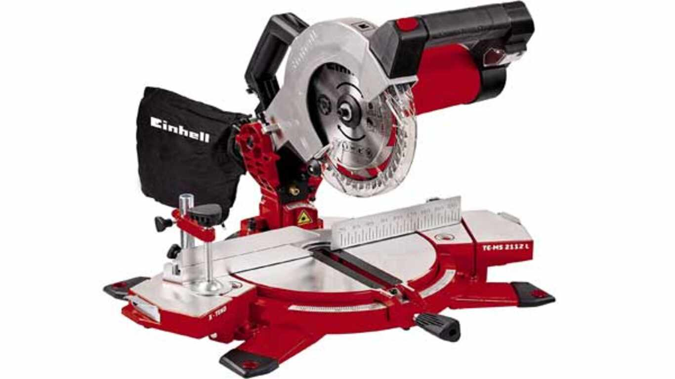 Scie à onglet filaire Einhell TE-MS 2112 L