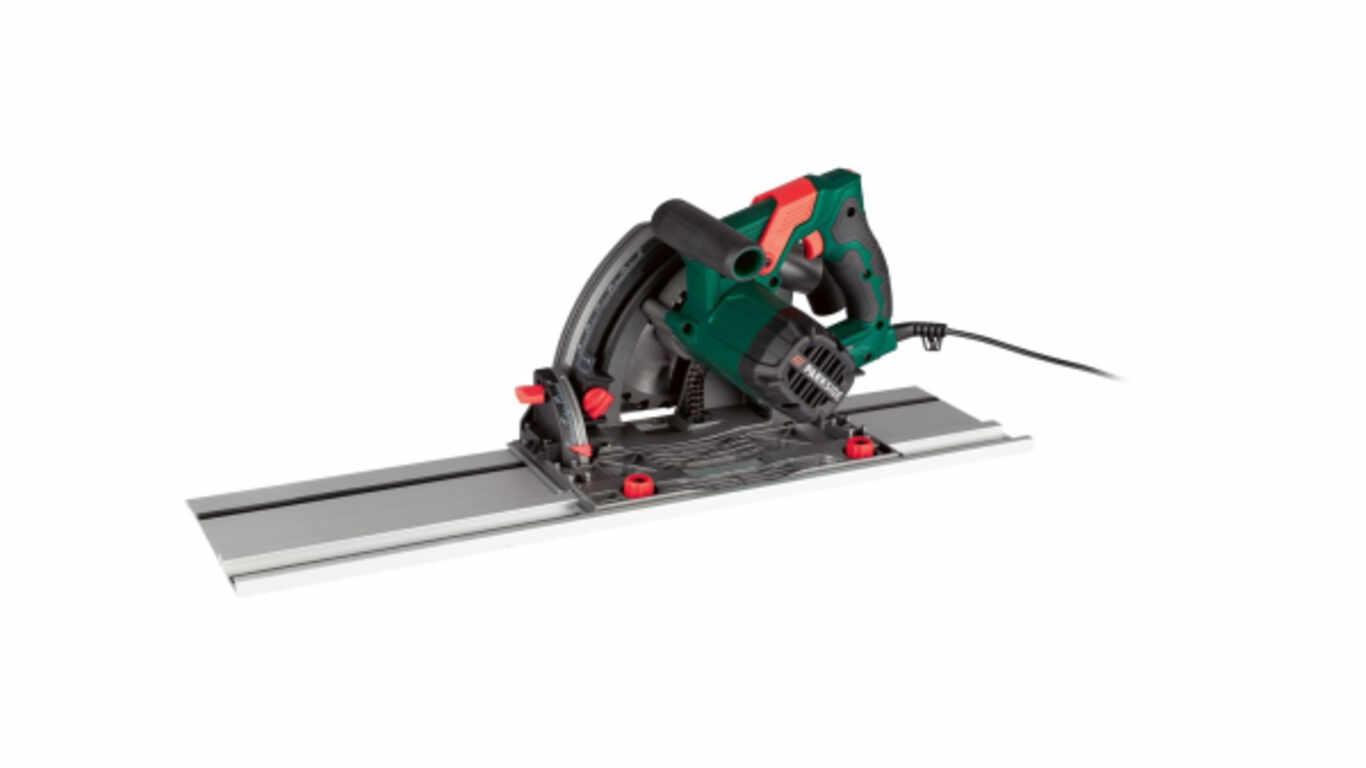 Scie plongeante avec rails de guidage PTSS 1200 C2, 1 200 W Parkside