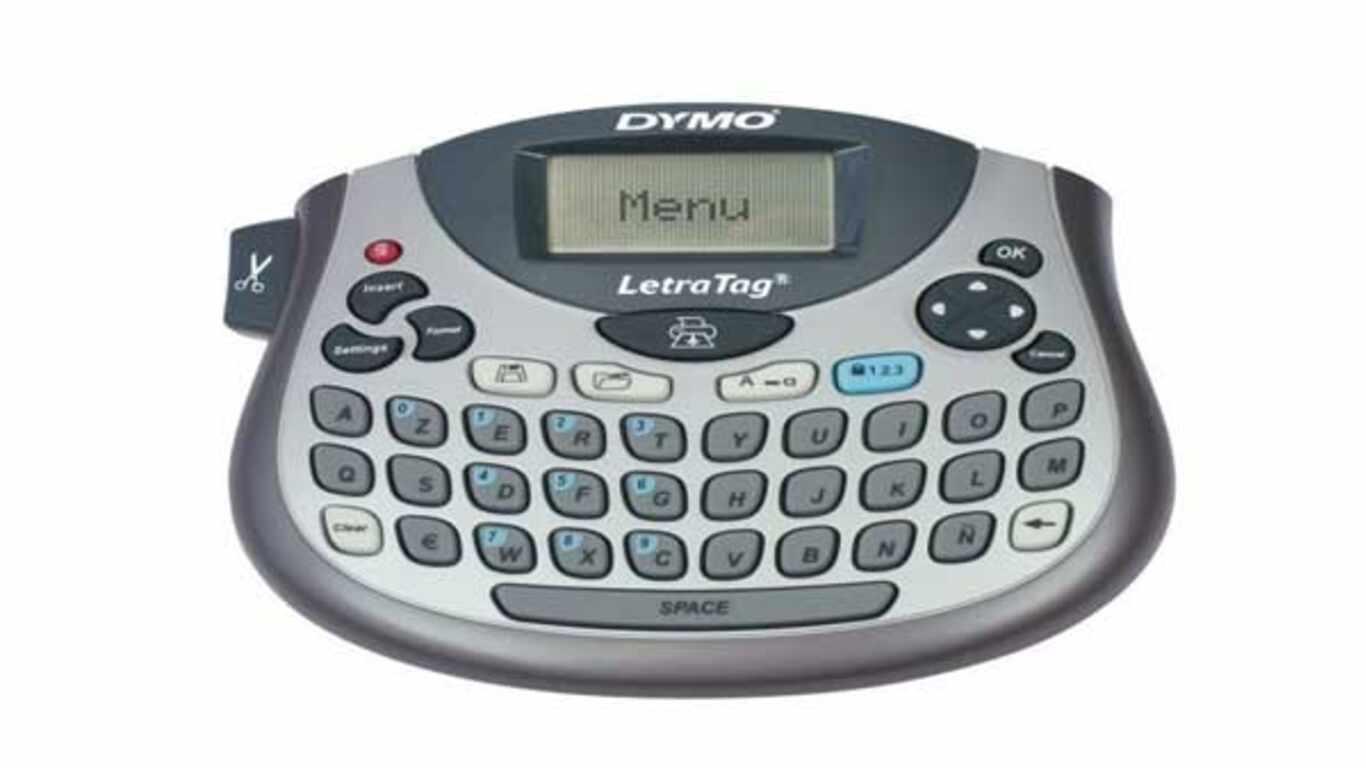 Étiqueteuse Dymo LetraTag LT-100T