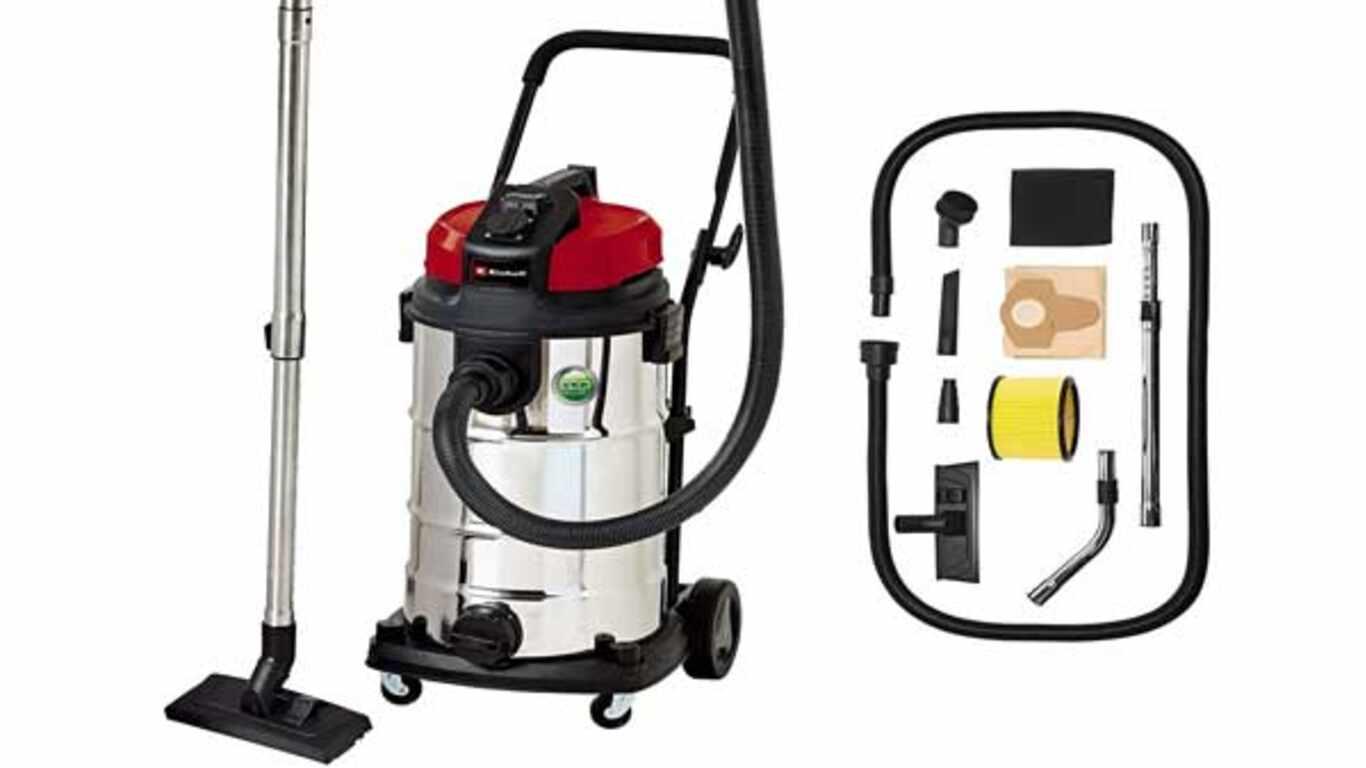 Aspirateur eau et poussière filaire Einhell TE-VC 2340 SA