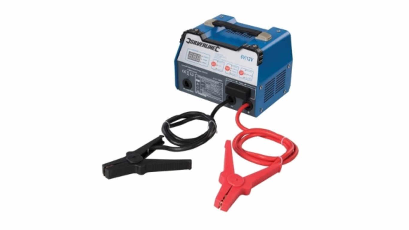 Chargeur de batteries 549095 Silverline